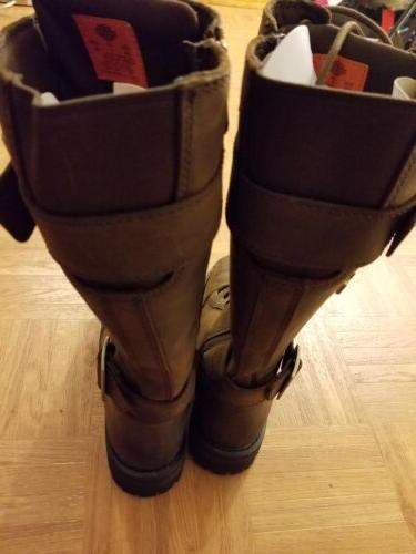 NWT Belhaven Brown Tall Boots Size