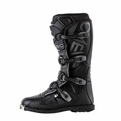 O'Neal Closed Toe Knee High Motorcycle, Black, Size oWt
