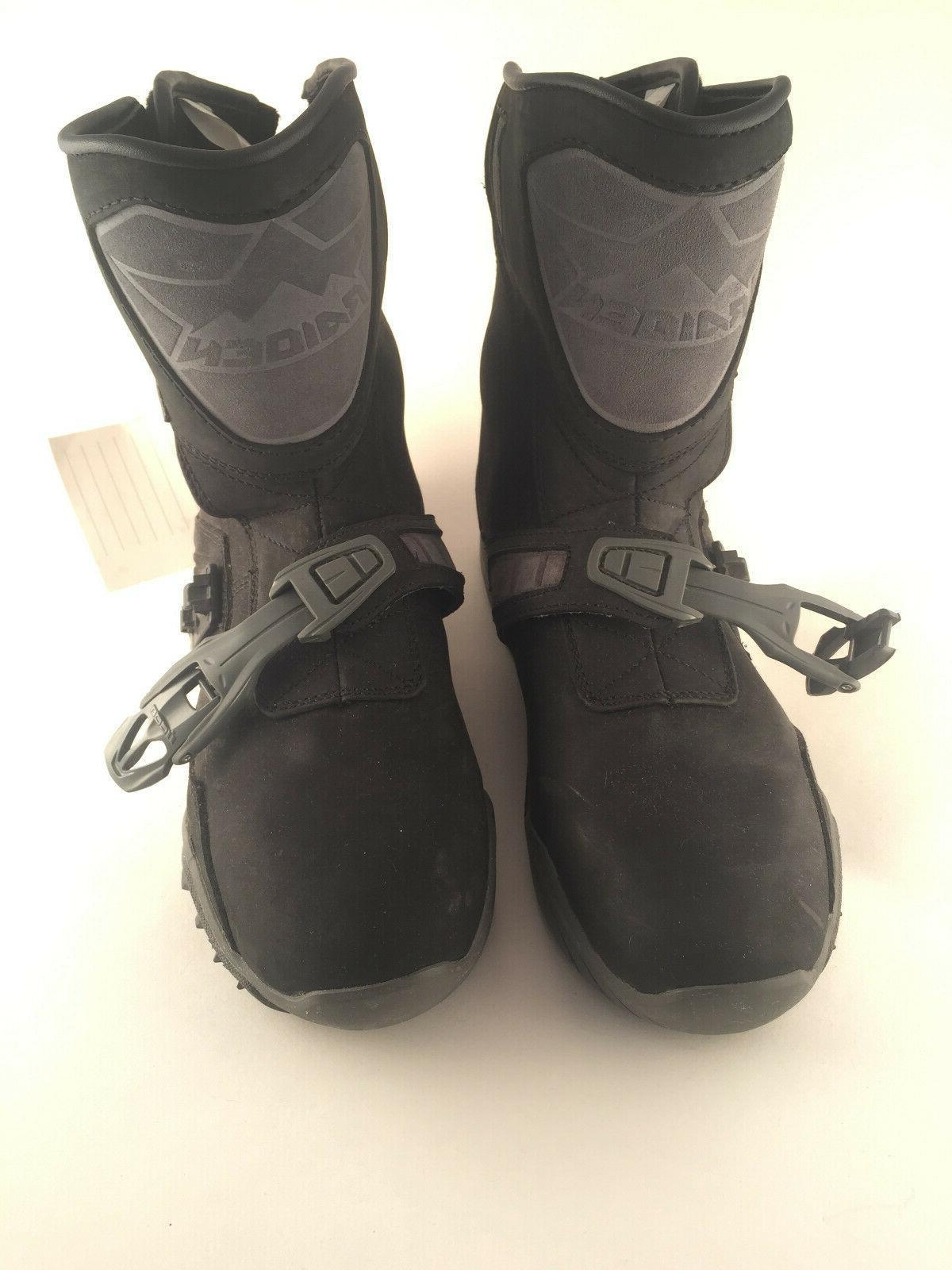 Icon Raiden Treadwell Motorcycle Boots Size 10 Men S