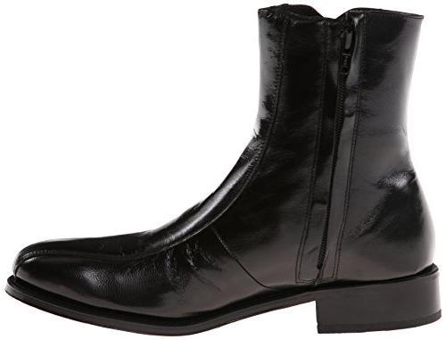 Florsheim Men's Regent Boot, Black, 8.5 US