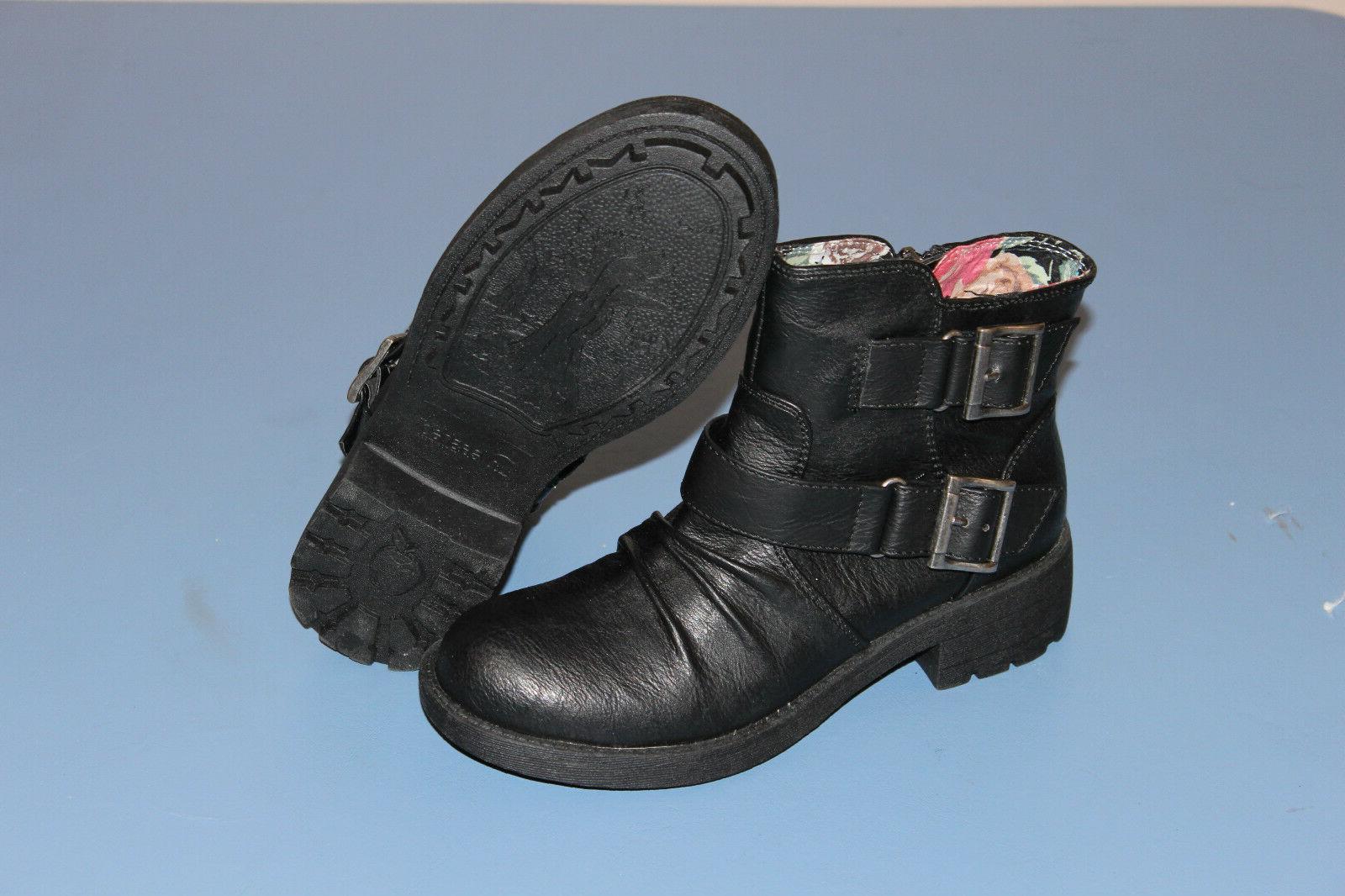 rocketdog womens motorcycle style boots tracks unleashed