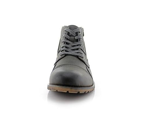 Polar Mens Casual Lace Up Boots 11