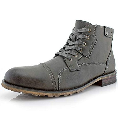 ronny mpx806037 mens casual work lace up