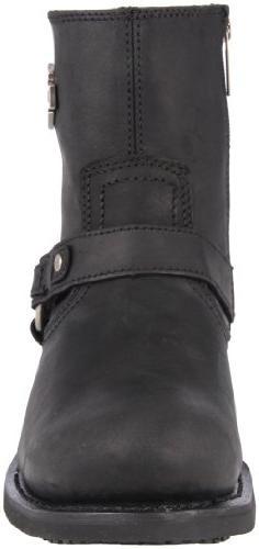 Harley-Davidson Men's Scout Harness Boot, Black, 11 M
