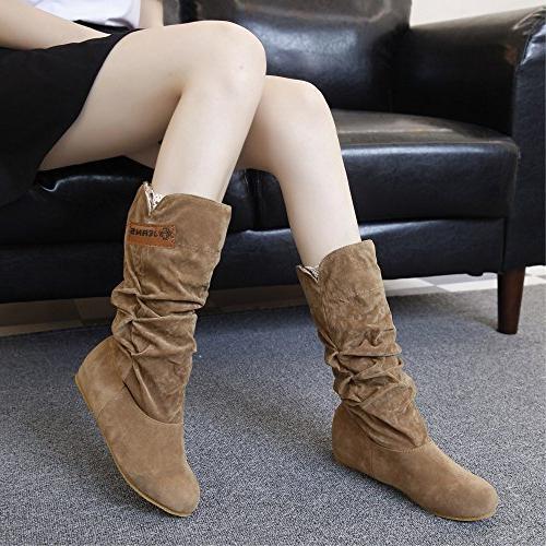 LandFox Shoes, Autumn Shoes,Woman Knee Boots Boot