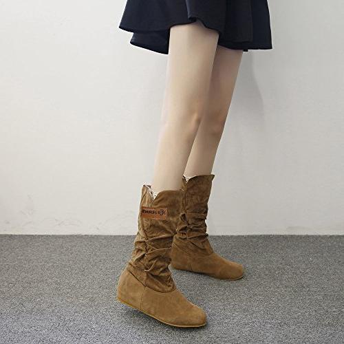 LandFox Shoes,Woman Flat Boot