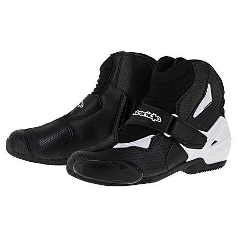smx 1 r vented boots black white