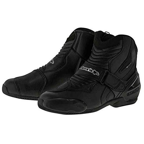smx 1r mens motorcycle boots black 44