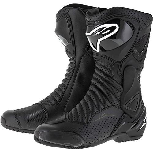 smx 6 v2 vented boots 44 black
