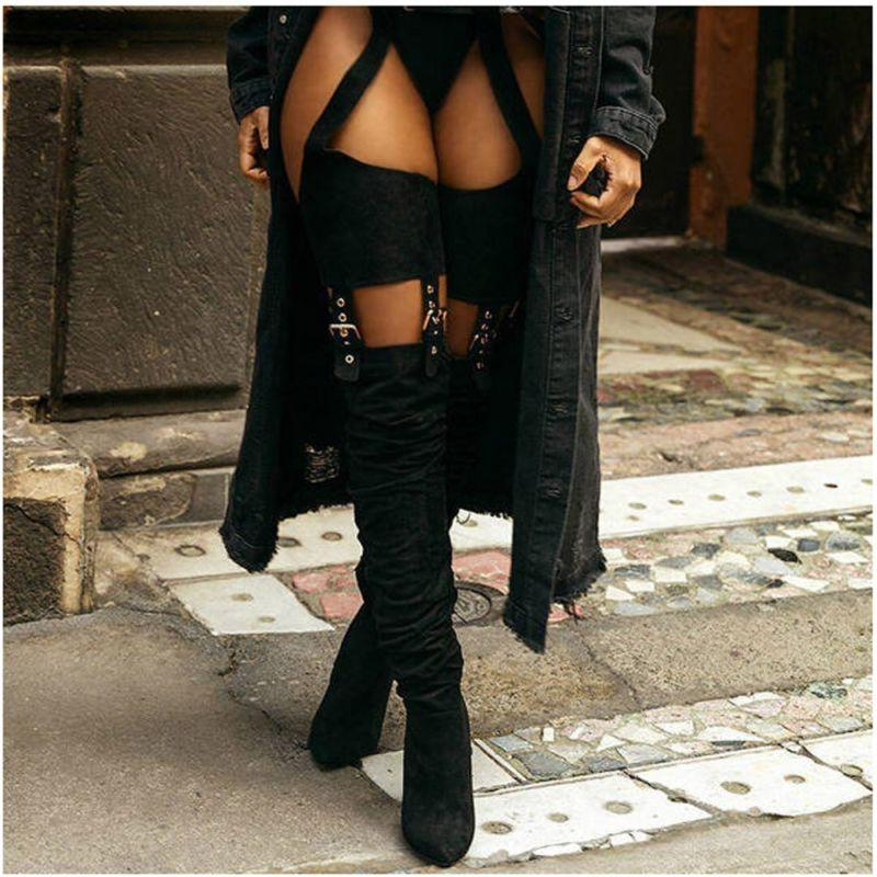 Tall Boots Heel High Zip Heel Boots
