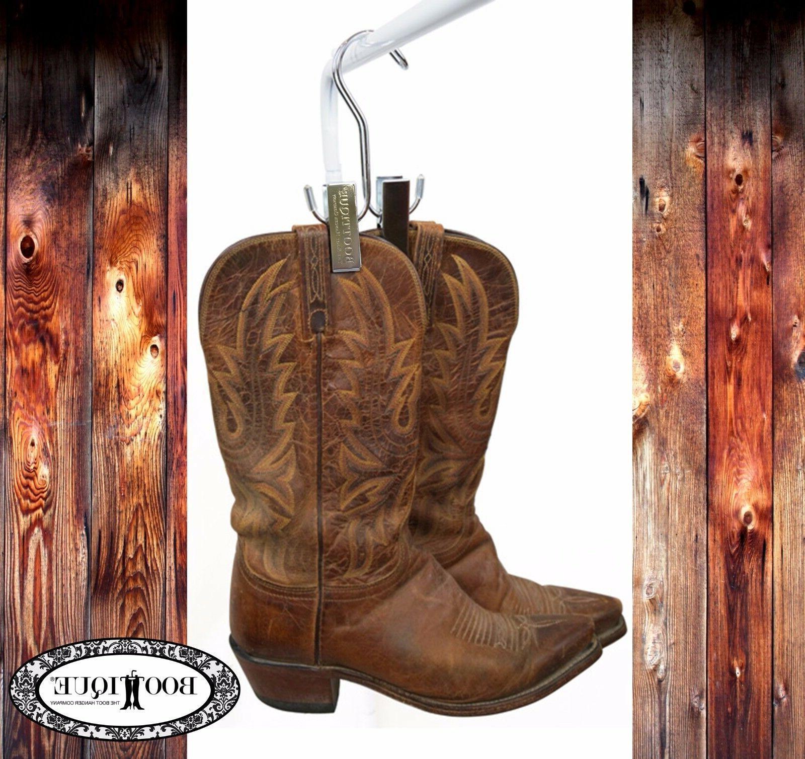 the cowboy boot hanger set of 3