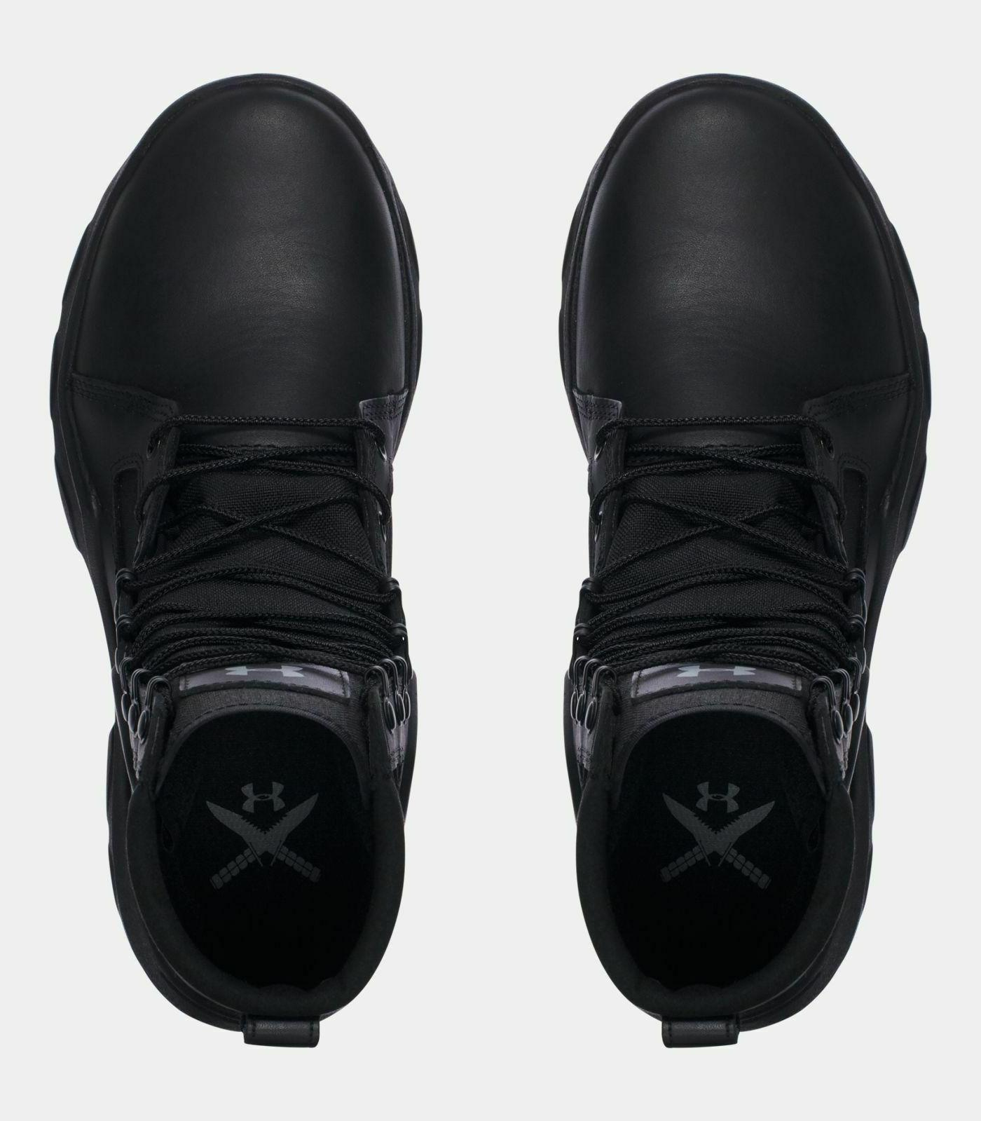"""Under UA 8"""" Motorcycle Boots 10.5"""