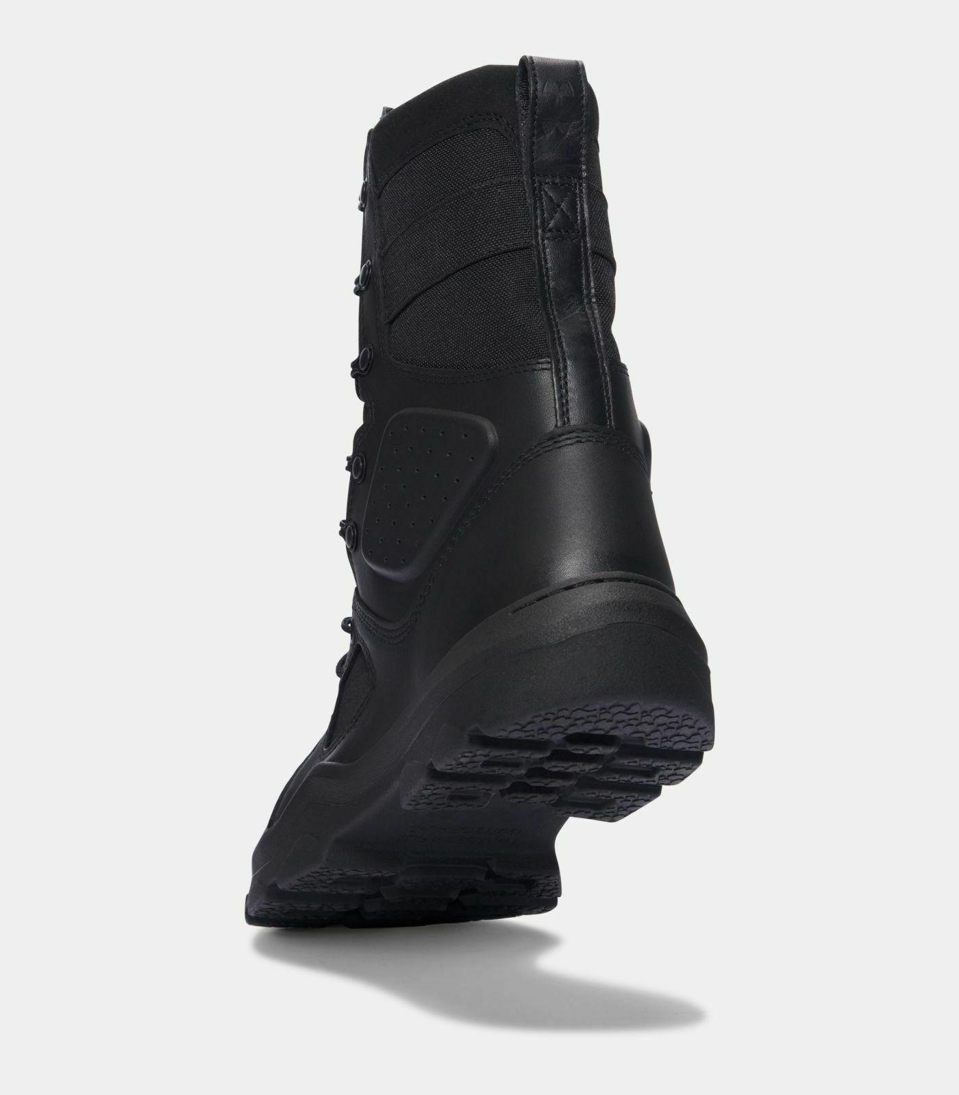"""Under 8"""" Tactical Hiking Motorcycle Boots Size 10.5"""