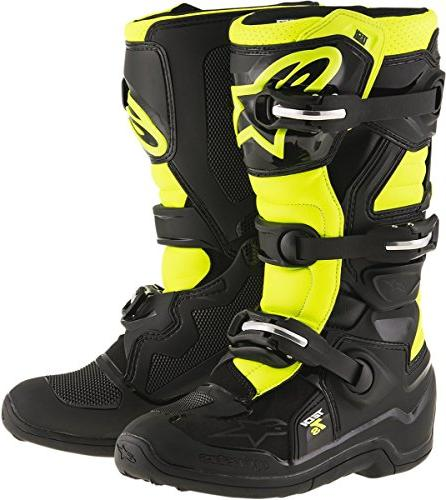 unisex child tech 7s youth boots black