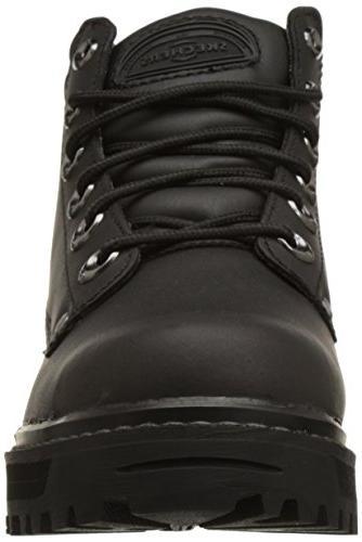 Skechers Men's Pilot Up Leather Boots - 14.0