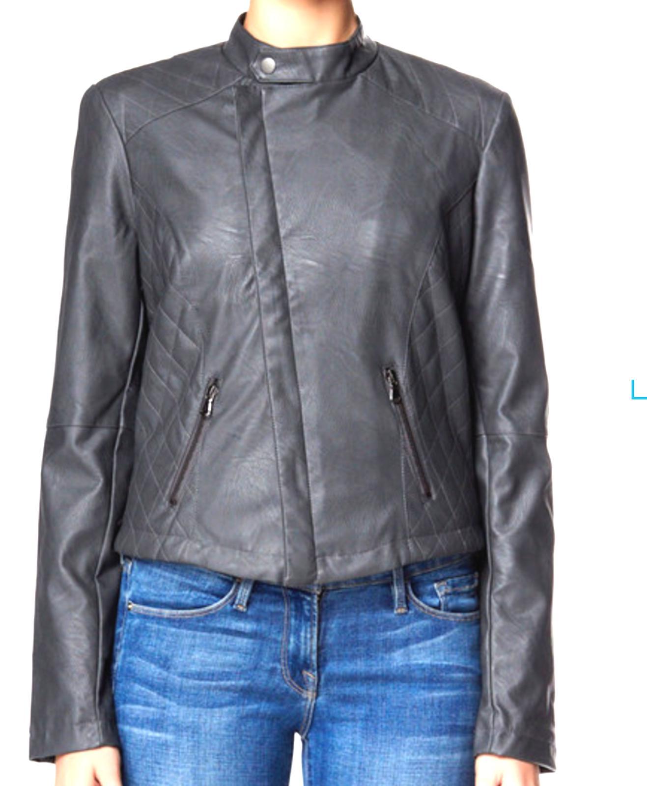 Tart Collections Moto Jacket Steel Med MSRP NWT
