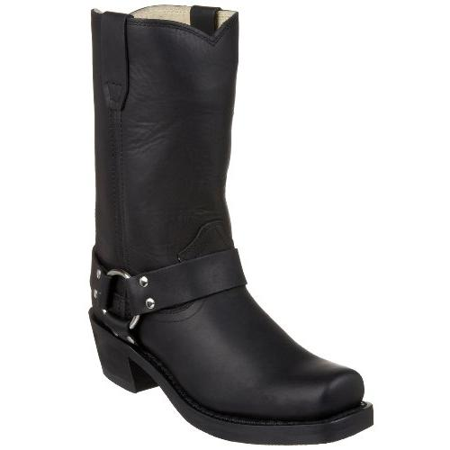 10 crossroads harness boot leather