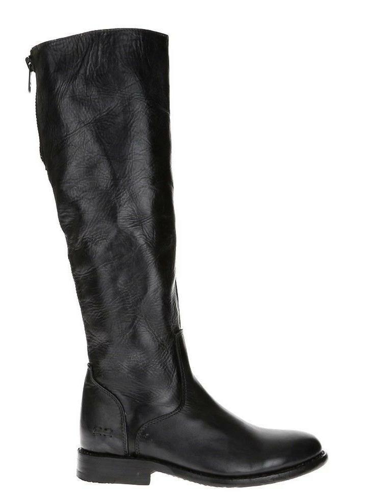 Bed Tess Motorcycle Black Glaze Leather - 7.5 M