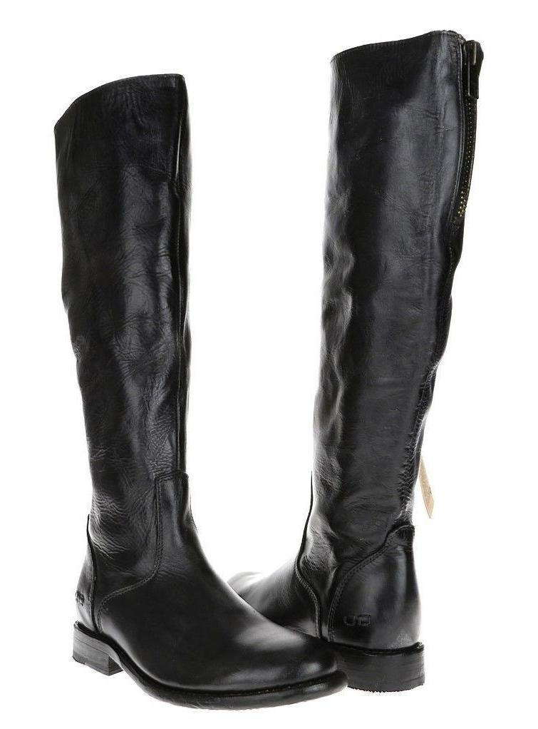 woman tess motorcycle ridding boots 121010 black