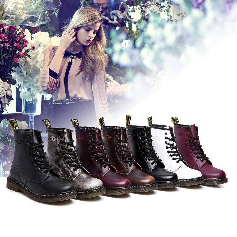 Women Ankle Warm Couple Shoes <font><b>Casual</b></font> Dr. Shoes