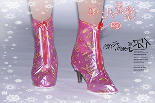 HHLJ Women's 1Pair Heels Covers Women Girls Shoes Cover