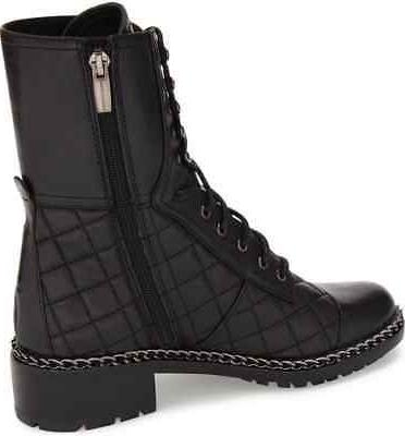 Vince Motorcycle Boot BLACK BUTTER CALF