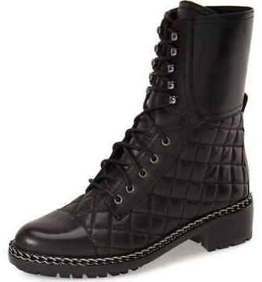 women s joanie motorcycle boot black butter