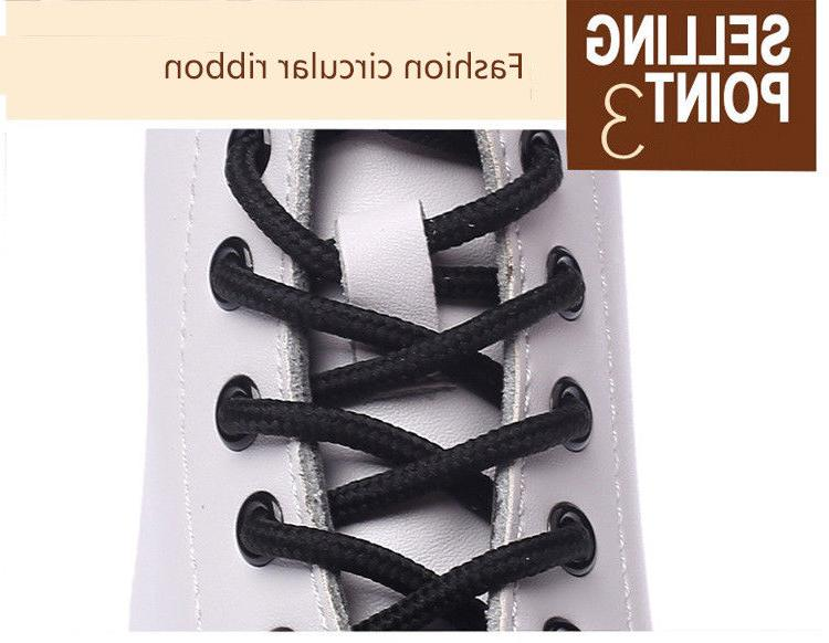 Women's Lace-Up Round Toe Low