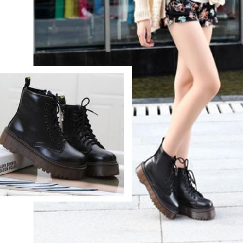 women s motorcycle martin boots punk ankle