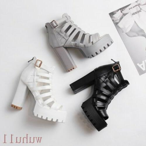 Women's Sandals Boots High Block