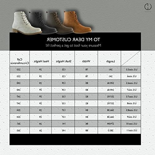 DailyShoes Lace-Up Ankle Work Side Pocket Ladies Booties, PU, US