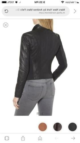 Marc New York Andrew Black Leather $480