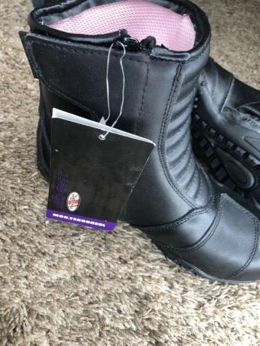 Women's boots Joe Rocket Motorcycle Boots Black NWT