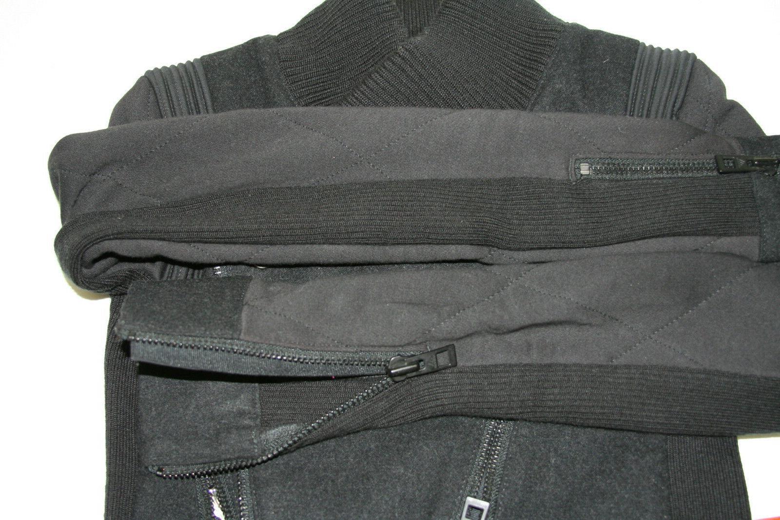 Womens Adidas Mccartney Black Asymmetrical Jacket 36