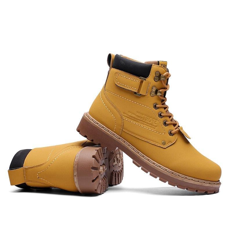 Yellow Winter Mens Bot Cowboy Coturno Botas Hombre Man 2019