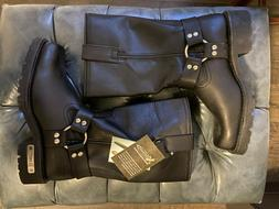 Xelement Leather Motorcycle Boots