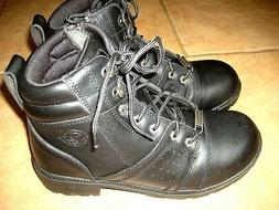 Milwaukee Leather NEW Womens 10 41 Black Motorcycle Ankle Wo