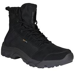 FREE SOLDIER Men's Lightweight Tactical Boots - Desert Tan