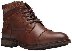 Madden Men's M-BRIX Ankle Boot, Cognac, 9.5 M US