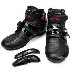 Men Offroad Sport Motorcycle Waterproof MX GP Racing Leather