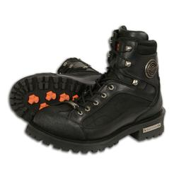 """Milwaukee Leather  Men's 6"""" Lace to Toe Boot w/ Gear Shift"""