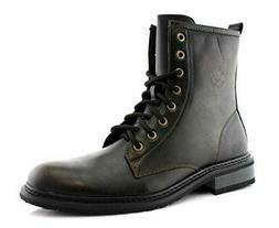 Men's 919674 Tall Ankle High Military Combat Fashion Motorcy