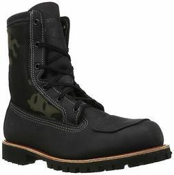 Bates Men's Bomber Work Boot, Black/Camo, 7 M US - Choose SZ