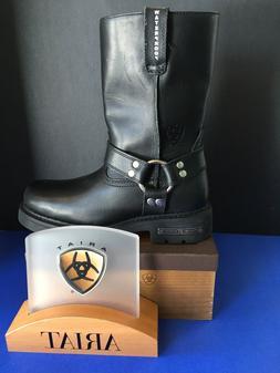 Ariat Men's Carbide H20 Waterproof Motorcycle Boot, With Zip
