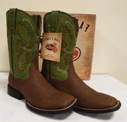 Justin Men's Farm & Ranch Synthetic Cowboy Boots - BUY IT NO