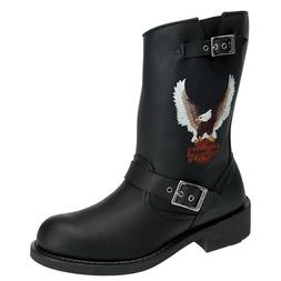 Men's Harley Davidson Jerry Pull-On Engineer Motorcycle Boot