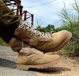 Men's Military Desert Combat lace up motorcycle Shoes Tactic