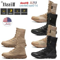 Men's Military Tactical Combat Army Shoes Lightweight Hiking
