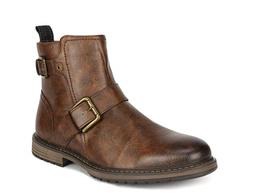 Bruno Marc Men's Motorcycle Boots Oxford Dress Boot Size US
