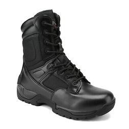 Mens Military Tactical Desert Work Boots Side Zip Hiking Mot